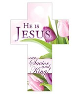 He Is Jesus, Cross Bookmarks (Job 19:25) Pack of 25