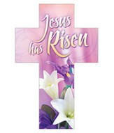 Jesus Is Risen, Cross Bookmarks (Romans 6:9) Pack of 25