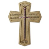 Word of God, Sword Wall Cross, Large