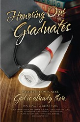 Honoring Our Graduates (Jeremiah 29:11, NIV) Bulletins, 100