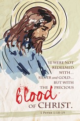 Precious Blood of Christ (1 Peter 1:18-19 ) Bulletins, 100