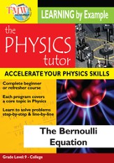 Physics Tutor: Bernoulli Equation DVD