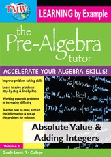 Absolute Value & Adding Integers DVD