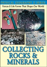 Physical Geography II: Collecting Rocks & Minerals DVD
