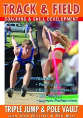 Track & Field: Triple Jump & Pole Vault With John Gillespie & Dan West DVD