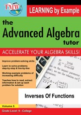 Inverses Of Functions DVD