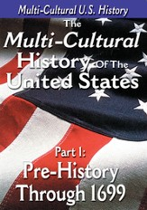 Multi-Cultural History of the United States Part 1: Pre-History through 1699 DVD