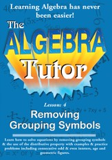 Algebra Math Tutor: Grouping DVD