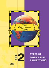 Geography Tutor: Types of Maps & Map Projections DVD