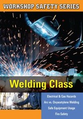 Workshop Safety: Welding Class DVD