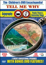 Tell Me Why: People, Places & Interesting Things/Geography DVD - Slightly Imperfect