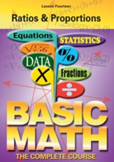 Basic Math Series: Ratios & Proportions DVD