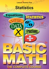 Basic Math Series: Statistics DVD