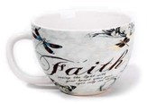 Faith, Seeing the Light with Your Heart Mug