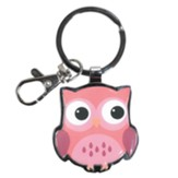 Owl, Wisdom Is Sweet Keyring
