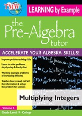 Multiplying Integers DVD