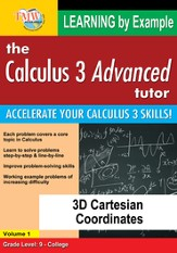 3D Cartesian Coordinates DVD