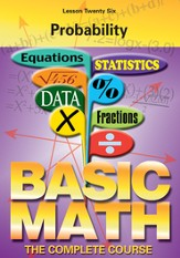 Basic Math Series: Probability DVD