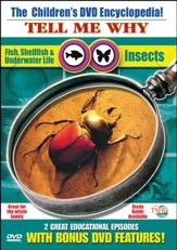 Tell Me Why: Insects & Fish, Shellfish, Underwater Life DVD