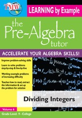 Dividing Integers DVD