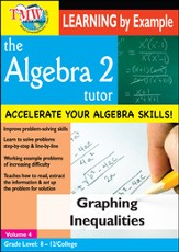 Algebra 2 Tutor: Graphing Inequalities DVD