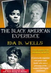 Ida B. Wells: Crusader For Human Rights DVD