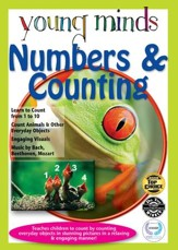 Young Minds: Numbers & Counting Math Tutor DVD