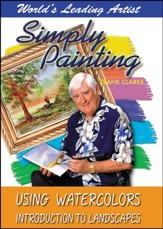 Simply Painting: Using Watercolors Introduction to Landscapes DVD