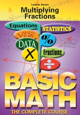 Basic Math Series: Multiplying Fractions DVD