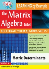 Matrix Determinants DVD