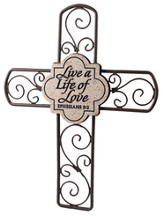 Live a Life of Love Cross
