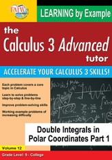 Double Integrals in Polar Coordinates Part 1 DVD