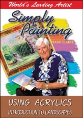 Simply Painting: Using Acrylics Introduction to Landscapes DVD