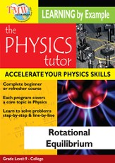 Physics Tutor: Rotational Equilibrium DVD