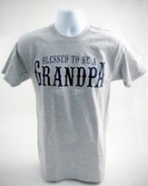Blessed to Be A Grandpa, Large Tee Shirt