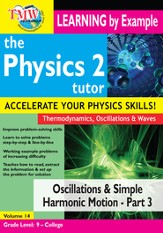 Oscillations and Simple Harmonic Motion - Part 3 DVD