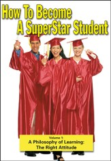 Superstar Student: A Philosophy of Learning - The Right Attitude DVD
