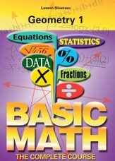 Basic Math Series: Geometry 1 DVD
