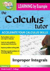 Calculus Tutor: Improper Integrals DVD