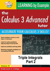 Triple Integrals Part 2 DVD