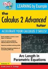 Arc Length In Parametric Equations DVD
