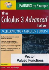 Vector Valued Functions DVD