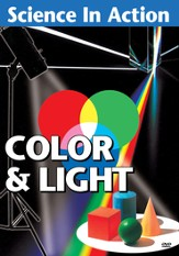Science in Action: Visual Science - Color & Light DVD