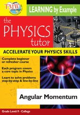 Physics Tutor: Angular Momentum DVD