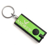 Personalized, Green Flashlight, With Eagle