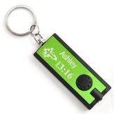 Personalized, Green Flashlight, Believe, John 3:16