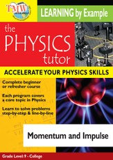 Physics Tutor: Momentum and Impulse DVD