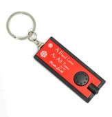 Personalized, Red Flashlight, Friends Love At All Times