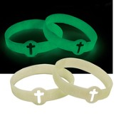 Fear Not Glow-in-the-Dark Silicone Bracelet