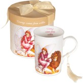 Angel of Courage Mug, Gift Boxed